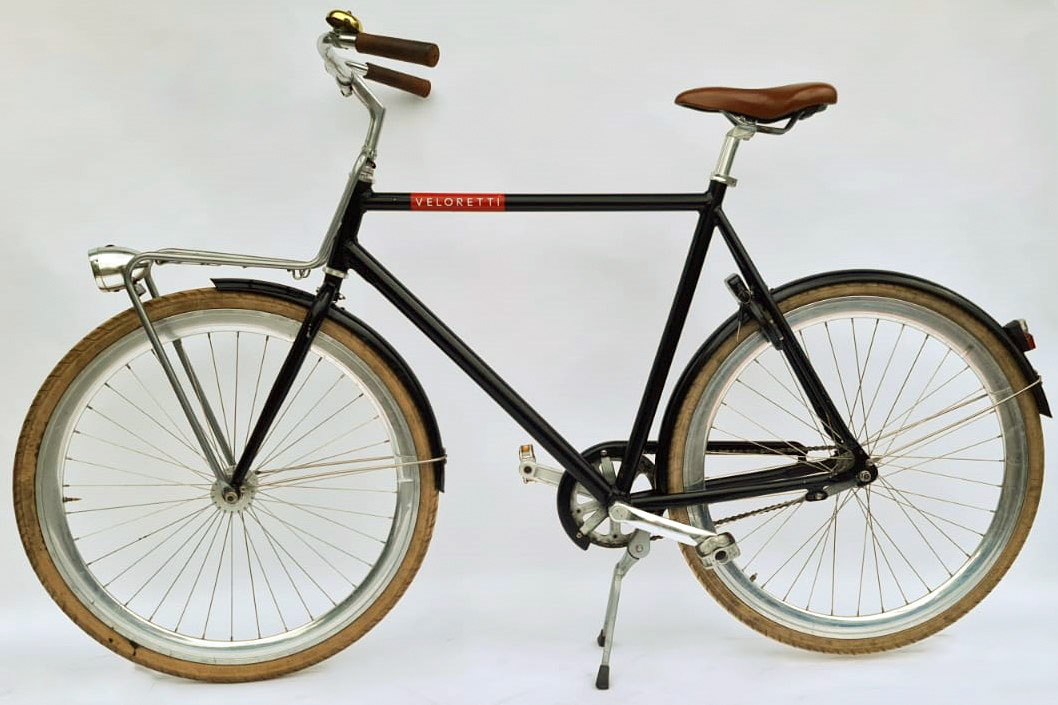 Veloretti herenfiets jet black