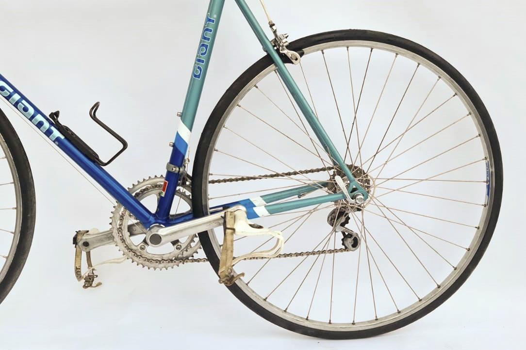 Giant peloton racefiets blauw