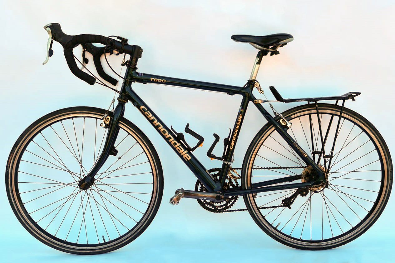 Cannondale T800 aluminium - zwart