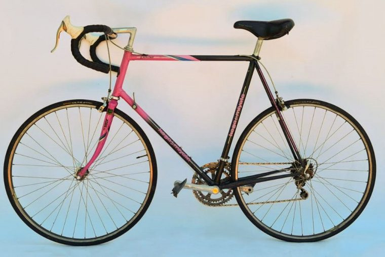 Koga Miyata vintage racefiets - roze/ zwart