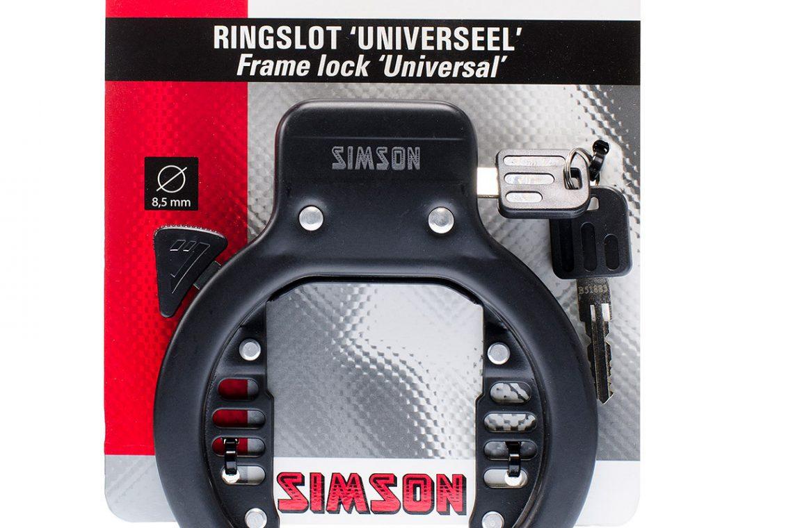 Simson Ringslot - zwart