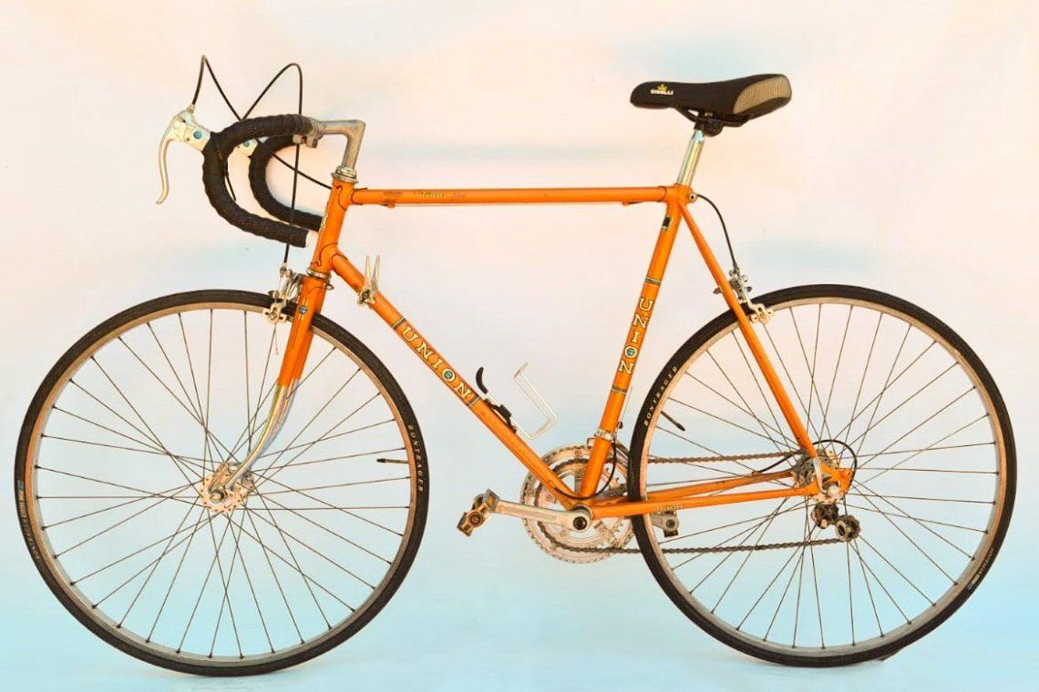 Union vintage racefiets - oranje
